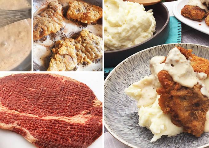 Chicken Fried Fullblood Wagyu Top Round Steak