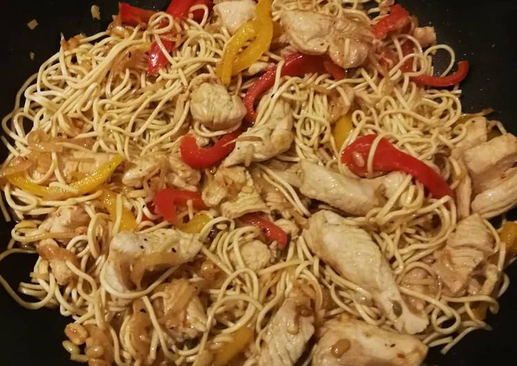 Les 9 Meilleures Recettes de Nouilles chinoises au wok
