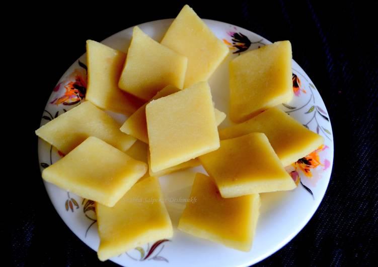 How to Make Perfect Badam Katli