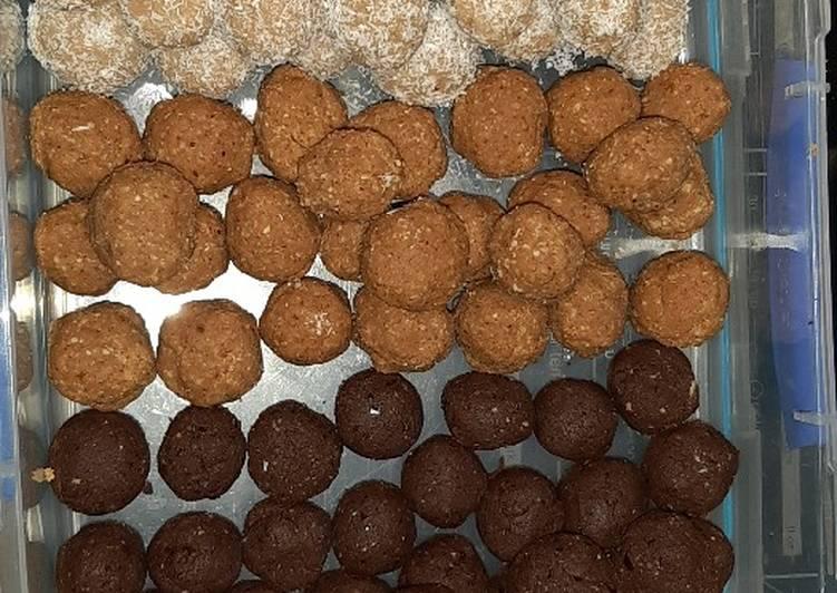 No Bake, Gluten Free Protein Balls