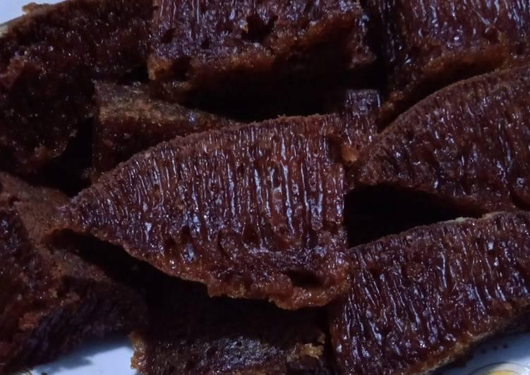 resep mengolah Bolu karamel teflon - Sajian Dapur Bunda
