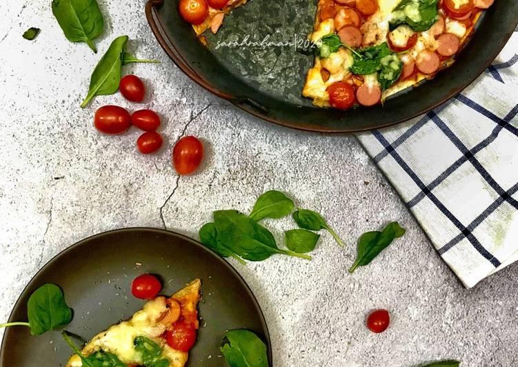 Resepi: Pizza Thin Crust  Lazat