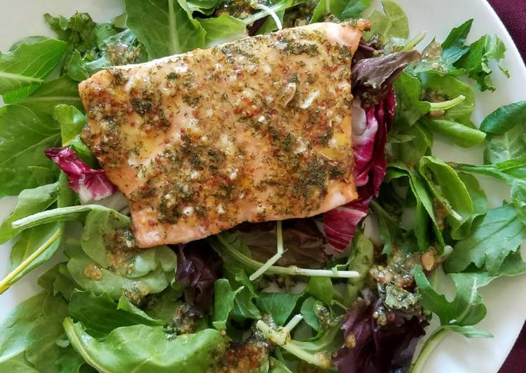 Steps to Prepare Ultimate Honey Mustard Salmon