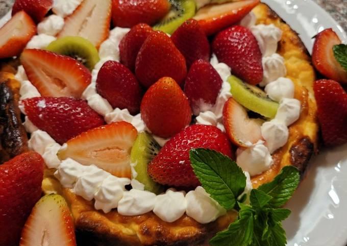 Easy Basque Cheesecake