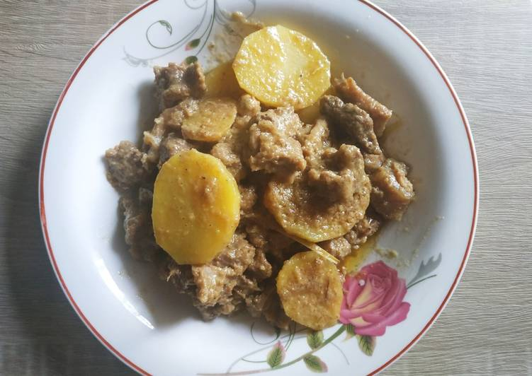 Resep: Instimewa Daging Masak Puteh khas Aceh