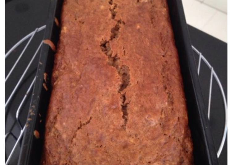 Resep Low Fat Banana Bread Paling Top