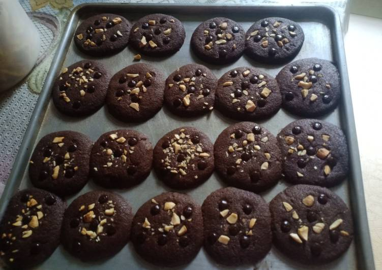 Chocochips cookies dengan kacang mete