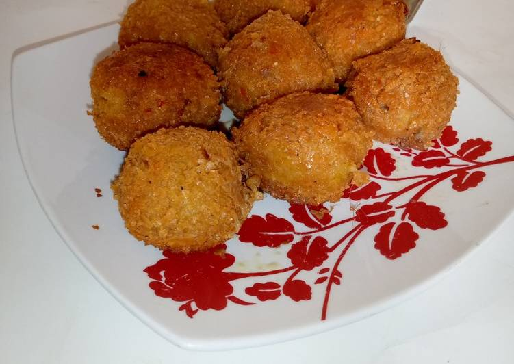Easiest Way to Make Ultimate Yam croquette
