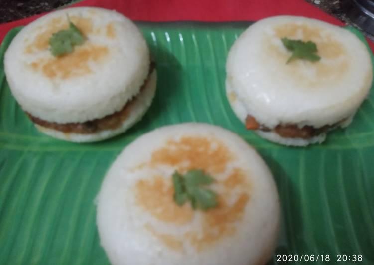 Recipe: Appetizing Idli Sandwich