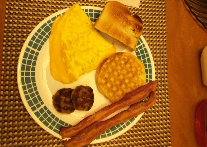 Best Breakfast 🥐 🥓 Ever