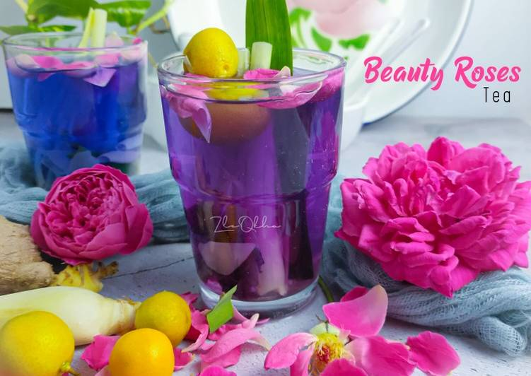 Beauty Roses Tea - resepipouler.com