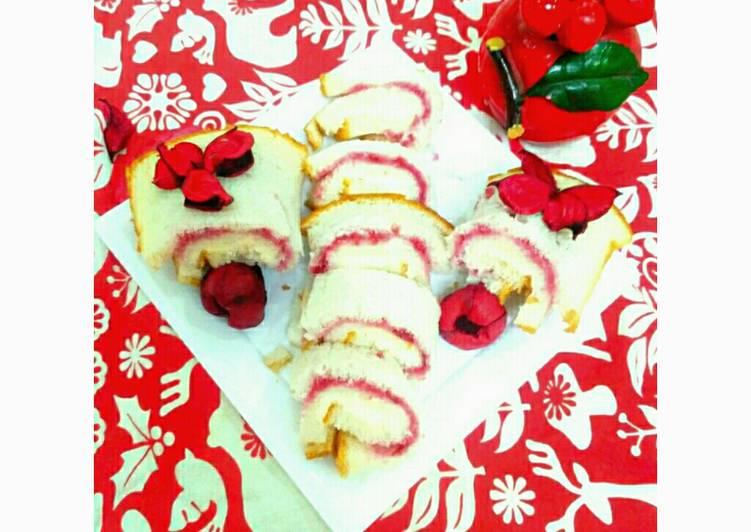 Strawberry jam Rolls