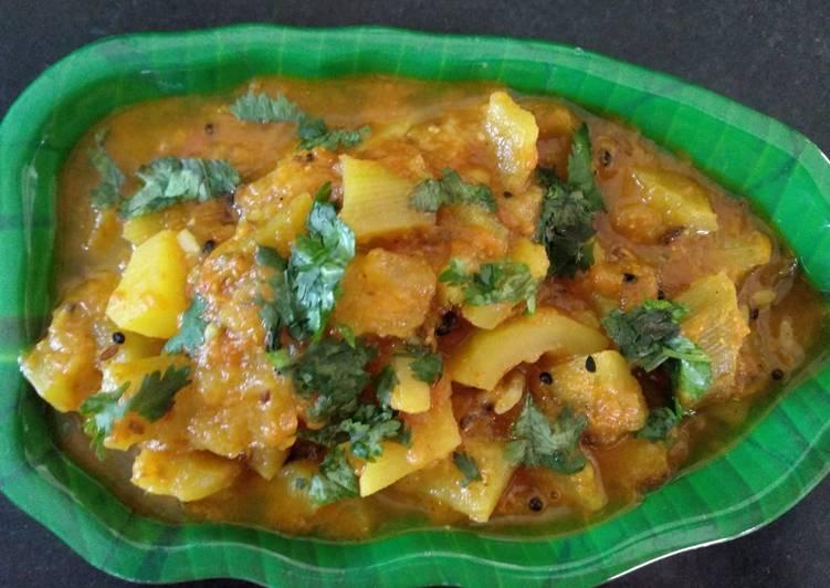 Recipe of Any-night-of-the-week Achari louki ki sabji