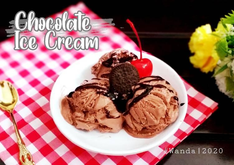 Chocolate Ice Cream a.k.a Es Krim Coklat 3 bahan (no SP,no Susu)