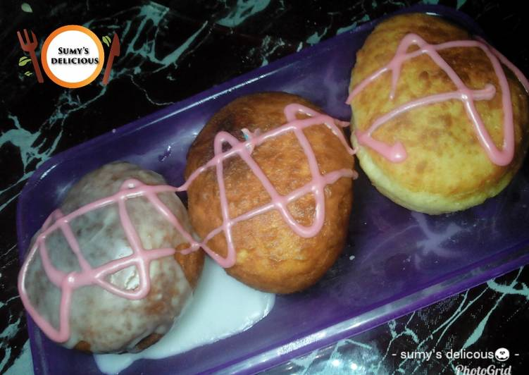 Steps to Prepare Top-Rated Icing Grizling donut