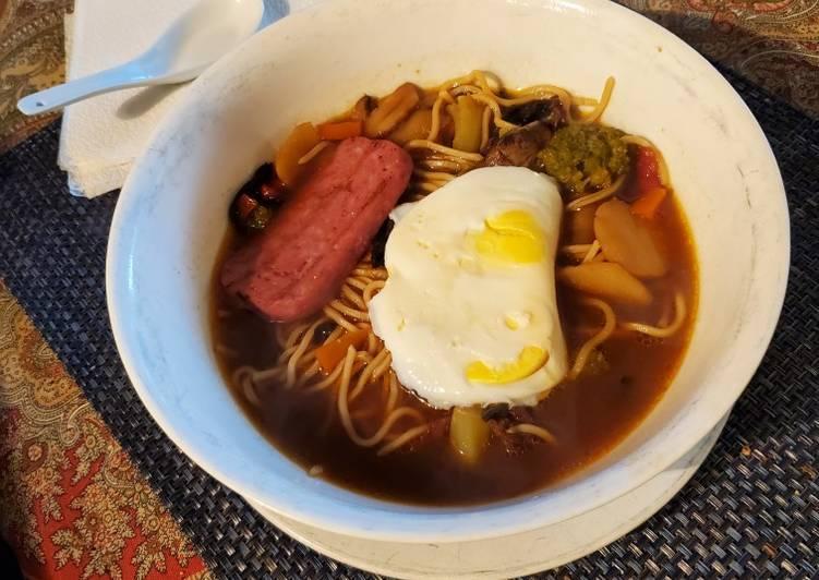 Recipe of Speedy Improvised Ramen-UDON