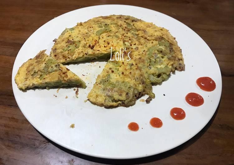 Telur Dadar Pare khas Pontianak