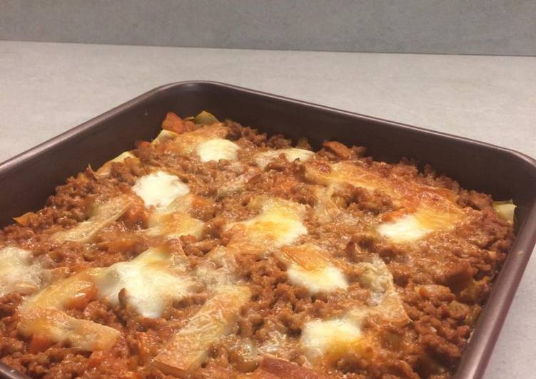 Easiest Way to Cook Appetizing Lasagne a modo mio