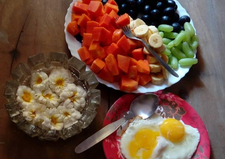 Healthy breakfast (bengali)