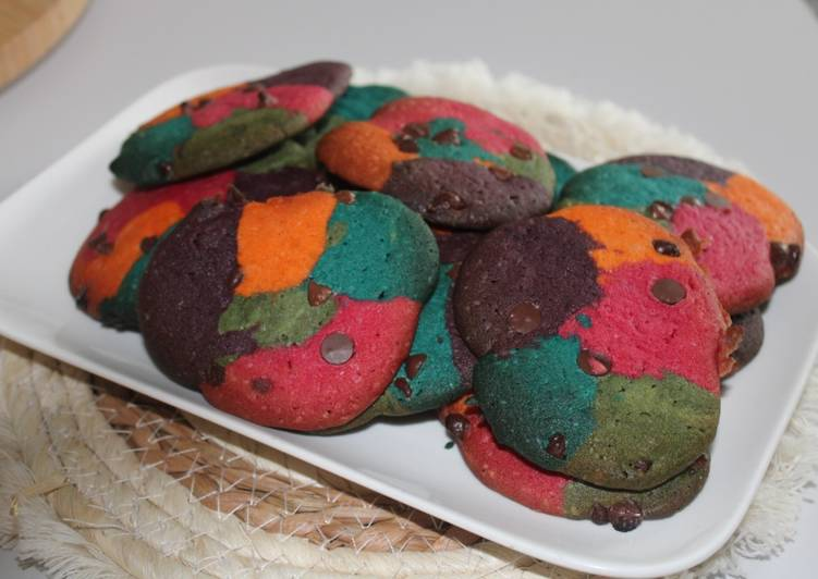 Cookies rainbow