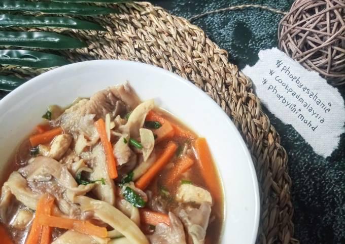 Cendawan masak sos tiram #phopbylinimohd #batch18
