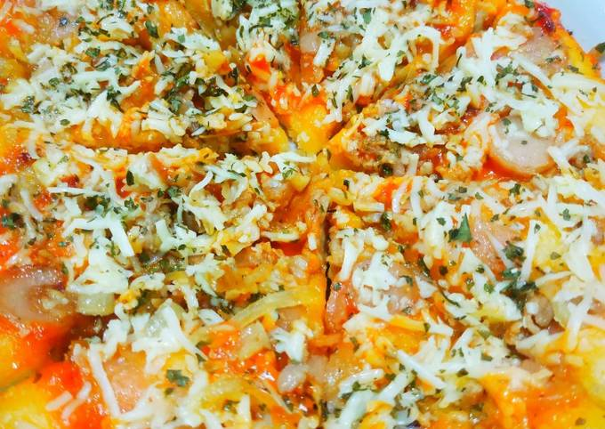 Pizza teflon anti gagal