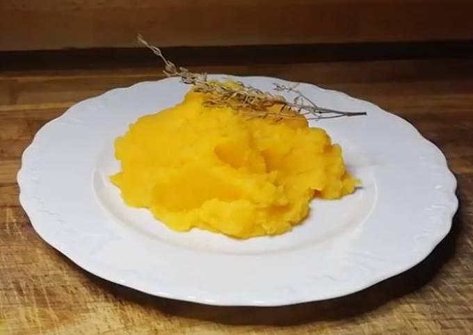 Purée de butternut