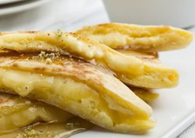 طريقة عمل المطبق الحلو بجبنة كرافت تشيدر بالصور من تشيدر كرافت كوكباد