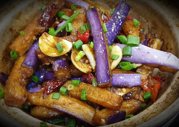 Recipe: Tasty Brinjal with Salted Fish 咸鱼茄子