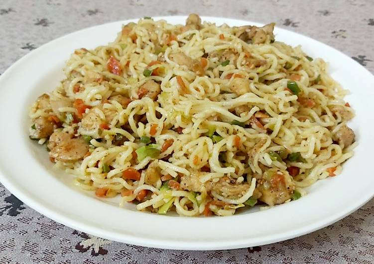 Recipe: Yummy Chicken Teriyaki Noodles