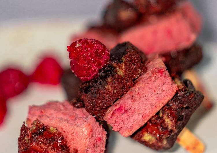 Ricetta Stecco di PanBiscotto Integrale di Farro al Cioccolato e al Lampone