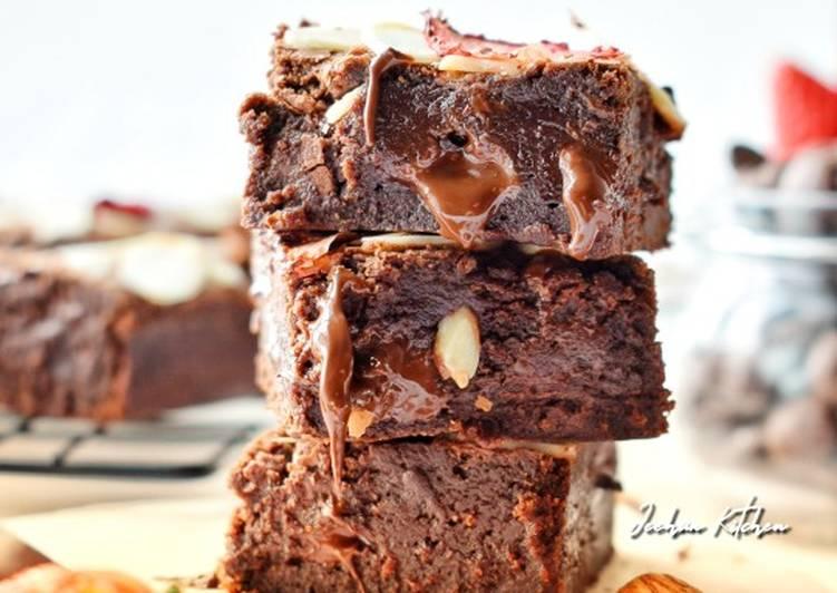 Melted Brownies#Brownies#SyedMunawwar