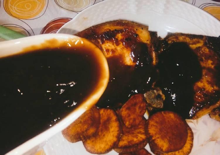 Foto principal de Salsa de naranja y azúcar negra