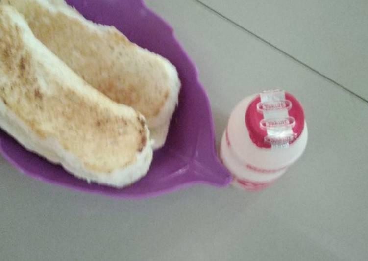 Resep Roti bakar susu Paling dicari