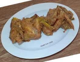Fried Chicken Wings Super Gampang