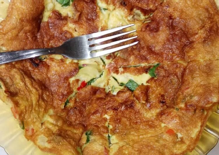 Omelette telur spesial by #dapurhamezan
