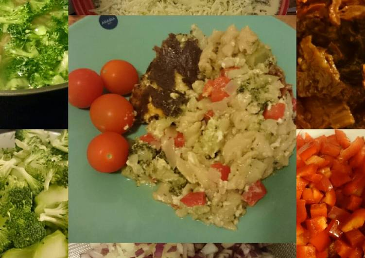 Recipe of Any-night-of-the-week Colourful pasta casserole