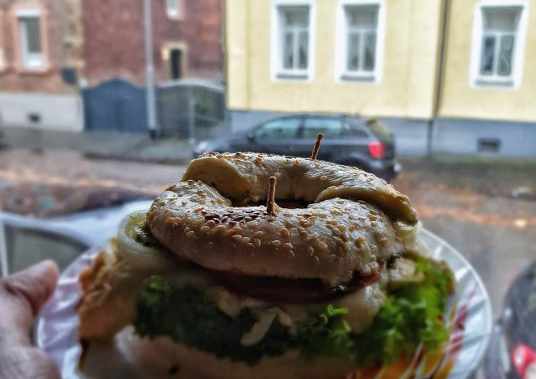 Recipe: Perfect Bagel Sandwich