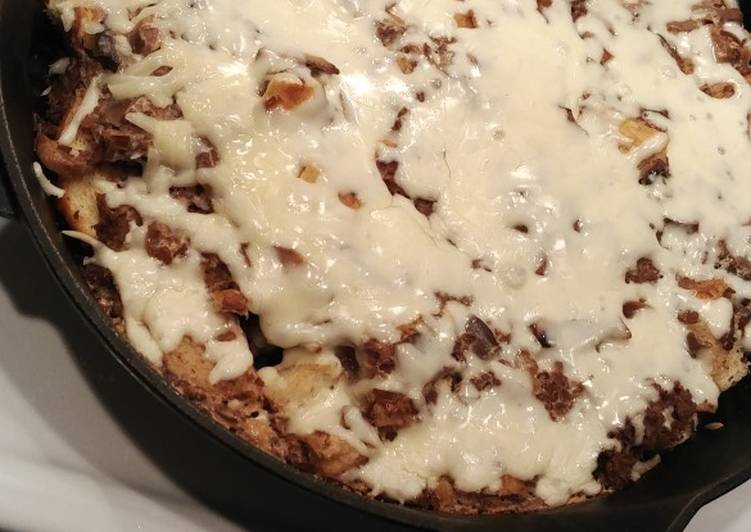 Simple Way to Make Super Quick Homemade French Onion Skillet
