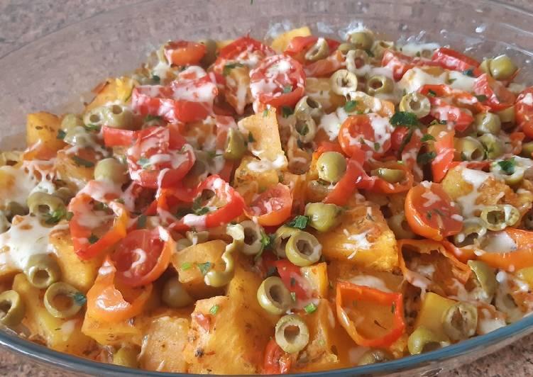 Comida rápida y deliciosa con pocas verduras