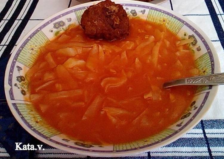 fejes káposzta főzelék)