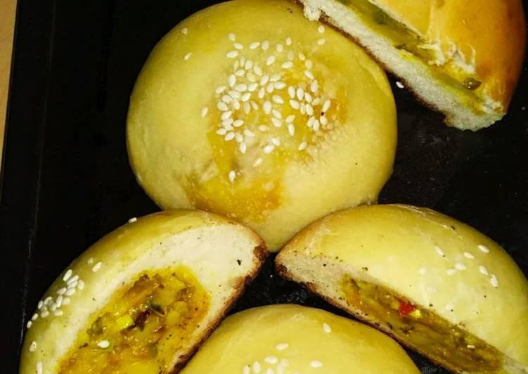 How to Prepare Award-winning Masala stuff buns