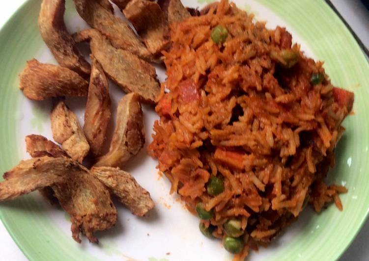 Recipe of Super Quick Homemade Jollof rice