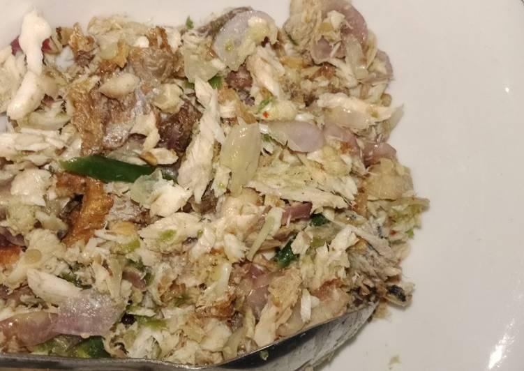 Tongkol sambal matah