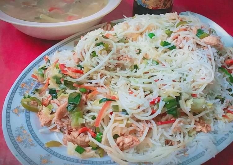 How to Make Speedy Singapore rice