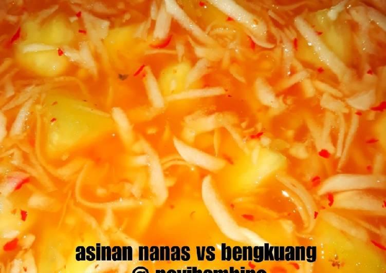 Asinan nanas vs bengkuang #seninsemangat #cookpad community
