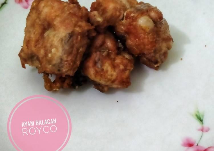 Ayam Balacan Royco