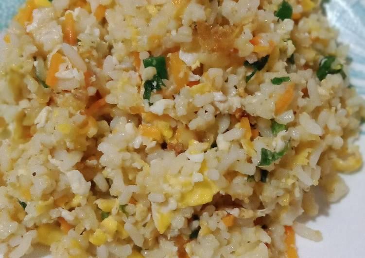 Resep Nasgor telur sayur buat anak Paling Enak