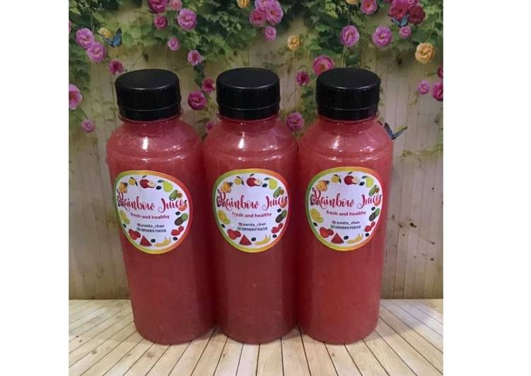 Diet Juice Watermelon Grape Lemon Star Fruit