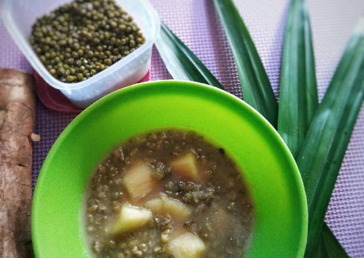 Bubur Kacang Hijau+Singkong